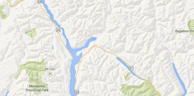 West Kootenay Map